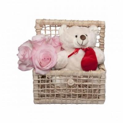 Arranjo Grande Amor Rosa
